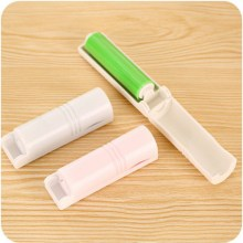 Portable Dust Remover Clothes Foldaway Travel Washable Lint Sticky Roller Hair Lint Rollers(China)