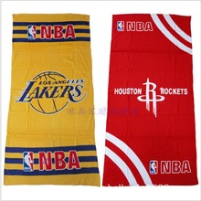 NBA Basketball Team Fans Towels Large bath towel , 70*140cm(China)