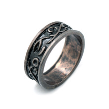 dark souls 3 ring High quality darkmoon black Zinc Alloy Unisex rings Gift CARTOON collection toy Hot game surrounding Jewelry
