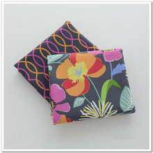 half meter VB fabric plain 100% cotton fabric flowers light ink marks printed tissues patchwork sewing cloth CR-154(China)