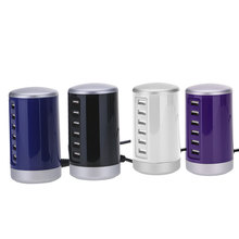 Portable Travel USB Desktop Charger Power Adapter For Multiple Devices 6-Port(China)