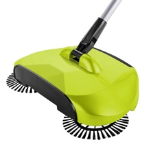 Stainless Steel Sweeping Machine Push Type Hand Push Dust Sweeper Broom Cleaning Mop Tool Handle Household Cleaning Sweeper(China)