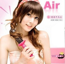 Airy Curl Hair Styler Styling Curler hair roller Curling Comb Brush New Free shipping(China)