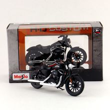 Maisto/1:18 Scale/Diecast model motorcycle toy/Harley-Davidson 2014 Sportster Iron 883 Classic/Delicate toy/Colllection(China)