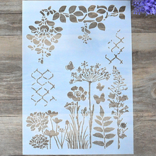 DIY Craft Layering Stencils For Walls Painting Scrapbooking Stamping Stamp Album Decorative Embossing Paper Card(China)