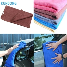 New Arrival 30*70cm Soft Microfiber Cleaning Towel Car Auto Wash Dry Clean Polish Cloth  jn30