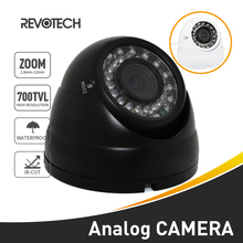 Outdoor 700TVL 2.8-12mm Zoom 36 LED Sony Effio-E CCD / CMOS Night Vision Waterproof Dome Camera Security Camera Video Analog Cam(China)