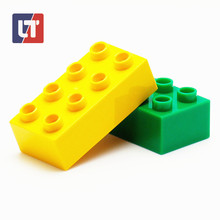 Duplo DIY Large Particles Puzzle Pieces Clone Model Building Intelligent Science Game Creator Construction Compatible With Legoe