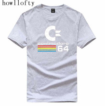 HOWL LOFTY Sommer Commodore 64 T Shirts C64 SID Amiga Retro 8-bit Ultra Cool Design Vinyl T-shirt Mens Clothing With t-shirt
