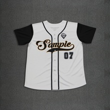 Design Your Own Full Buttons Style Sublimation Custom Baseball Jersey(China)
