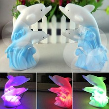 New Household Fashion Cute 3D Cartoon Led Night Light Dolphin Lamps Creative Decoration LED Table Lamp High Quality