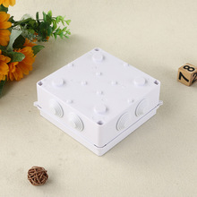 3X ABS White Plastic Junction Box Outdoor Electronic Enclosure Project Waterproof 85x85x50mm Electrical Wire Box Connector