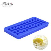 FILBAKE 40 Cavity Silicone Ice Tray Can Be In Refrigerators Microwave Oven Suitable For Bars More Suit For Family Ice Tools(China)