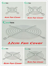 100% New Fan Cover Shield Iron Net Protection Net Dust Filter Protective Grille For Dc&ac Fans Cooling(China)