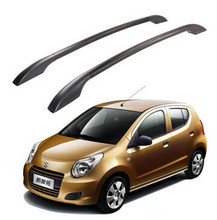 2Pcs/Set Auto Roof Racks  Aluminum Roof Boxes Easy Install Without Drilling Roof Luggage Rack Bars Case for Suzuki New Alto