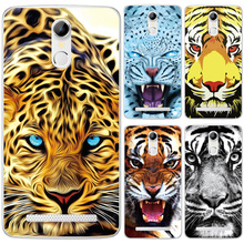 Buy Soft Silicone Case HomTom HT17 Pro Phone Back Cover Scary Tiger Lion Animal Pattern Soft Shell HomTom HT17 HT 17 Case for $1.31 in AliExpress store