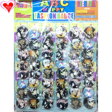 Love Thank You Soul Eater 45MM 16/24/32/40/48 pcs lot PIN BACK BADGE BUTTON BROOCH for BAG GIFT TOY CLOTH Cartoon& anime