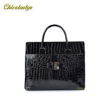 CCHICOLADYZ Fashion PU leather Retro Pack Handbag Women Alligator Clutch Bag Messenger Shoulder Bags Women Leather Bag Promotion(China)