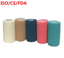 10cm Security protection CE/FDA Certification waterproof self adhesive elastic bandage  first aid kit Nonwoven Cohesive Bandage