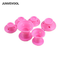 Mushroom Styles Hair Maker 5 Pcs Small + 5 Pcs Large Sizes Total 10 Pcs Rubber Girl's Hairdressing Tools Rollers New Styles(China)