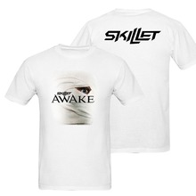 SKILLET Awake and Alive T Shirts Alternative Rock Band Tee euro sizeS-XXXL