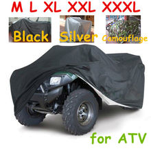 All size 3 colors Universal ATV Cover All Terrain Vehicle Beach motorcycle Protect WaterProof Anti-UV Dustproof Quad Bike Cover(China)