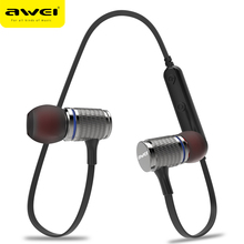 AWEI T12 Bluetooth Headphone Wireless Earphone Headset For Phone Auriculares kulakl k Cordless Earpiece Bluetooth V4.2 Casque(China)