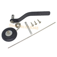 Buy 50cc Nitro Great Plane Landing Gear Carbon Tail Wheel Assembly 1.5 inches Rubber Tire Kit RC Airplane Replacement Parts for $7.26 in AliExpress store