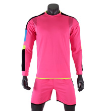 2017 Child Kids Men Football Jerseys Kit Long Sleeve Blank Soccer Training Suit football jersey custom DIY goalkeeper uniforms(China)