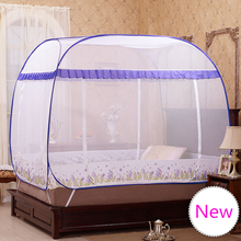 Blue Purple Bed Canopies Adults,Portable Mosquito Net for Double Bed,Mosquito Netting,Mosquiteiros Cama,Folding Mosquito Nets