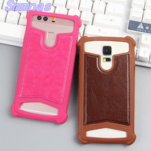 PU Leather Soft Silicon Wallet Flip Cover Case For DEXP Ixion MS155 Coil MS250 Sky  MS350 Rock Plus MS450 Born X245 Rock mini