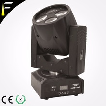 Quad LED Compact Wash Moving Head with 4x10 W 40 Pixel RGBW Colour Beam Super Moving Head Led for Mobile Djs Disco Show Party