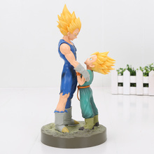 2pc/set Dragon Ball Z Super Saiyan Figuarts Zero Vegeta Trunks PVC Action Figures DRAMATIC SHOWCASE Dragonball Model Toy Doll(China)