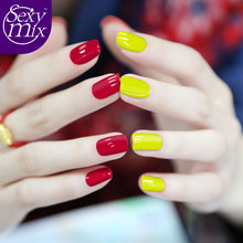 Sexy Mix 9ML Red Color Nail Gel Polish Soak Off Gel Polish With UV LED Lamp Nail Gel Varnish DIY Nail Art Laquer 3d Varnishes
