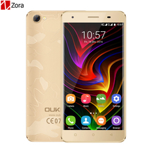Original OUKITEL C5 Pro 4G Mobile Phone Android 6.0 2GB RAM 16GB ROM MTK6737 Quad Core 720P 5.0 MP 5.0 inch Dual SIM Cell Phone