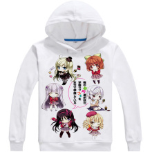 rxLzoon Anime My mental choices are completely Cosplay Costume Print women men hoodie Spring&Autumn pullover hoodie(China)