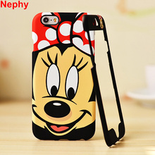 Nephy Mobile Phone Case For iPhone 6 6s 360 Degree Full Protection Cover Housing Bag Hard Plastic High Quality Cartoon Pattern(China)