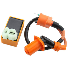 GOOFIT Performance Cdi Ignition Coil Set for Yerf Dog Spiderbox GY6 50cc 60cc 80cc 125cc 150cc Go Kart Group-71