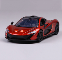 1/24 Dicast Model Car McLaren P1 Simulation Cars Model Alloy Racing Car Toys for Children Collections(China)