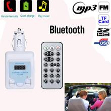 CARPRIE Bluetooth Car Kit Bluetooth hands-free Wireless Radio Adapter USB Charger Audio format MP3 FM radio transmission Nov21(China)