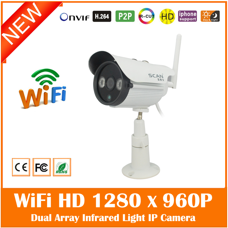 1.3mp Hd 960p Wi Fi Wireless Bullet Ip Camera Outdoor Onvif Security Surveillance Webcam Waterproof Cmos Network Freeshipping <br><br>Aliexpress