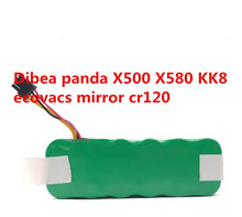 Best Quality NI-MH 14.4V 6000mAh vacuum Cleaner Battery for Dibea panda X500 X580 battery Ecovacs Mirror CR120