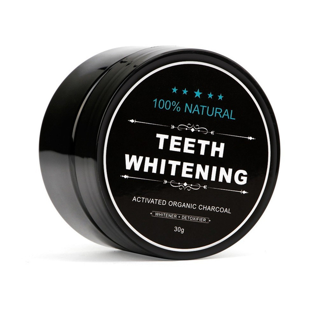 Teeth Whitening Powder Natural Organic Activated Charcoal Bamboo