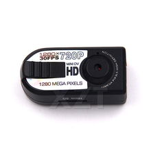 PZ Hot Sale Smallest Full HD 720P Mini DV DVR Camera Camcorder Night Q5 camera infrared night vision Camera shoot(China)