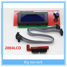 1 Pcs LCD Display 3D Printer Reprap Smart Controller Reprap Ramps 1.4 2004LCD Control(China)