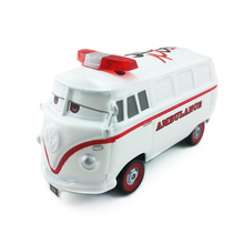 Disney Pixar Cars Fillmore Ambulance Metal Diecast Toy Car 1:55 Loose Brand New In Stock & Free Shipping(China)