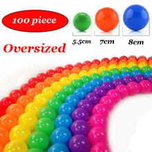 100pcs/lot Oversized Eco-Friendly Colorful Soft Plastic Water Pool Ocean Wave Ball Baby Funny Toys outdoor fun sports