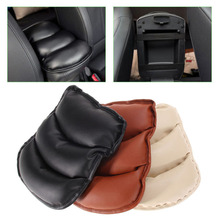 Car Auto Armrests Cover Vehicle Center Console Arm Rest Seat Box Pad Protective Case PU Mats Cushion Universal  DXY88