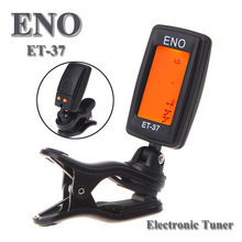 ENO ET-37  LCD Mini Clip-on Electronic Guitar Chromatic Bass Violin Ukulel Tuner Wind Instrument Universal musical instrument