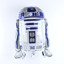 62*49cm Star Wars Robot Cartoon Balloon Aluminum Foil Balloons Party Decoration Balloons Celebration Supplies(China)